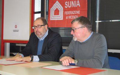 """Congresso Sunia Vicenza – Chiappelli del nazionale: """"la Regione impegni l'1% del bilancio per la casa!"""""""